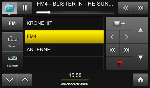 Cartft Fm Automotive Usb Fm Rds Tuner Dab Fm Radio