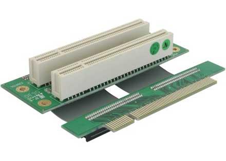 PCI Dual Risercard (flexible)