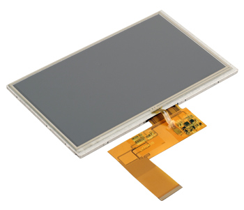 """INNOLUX 7"""" TFT with touchscreen"""