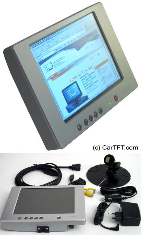 """800YV -- TFT 8"""" -- VGA and PAL/NTSC [silver]"""