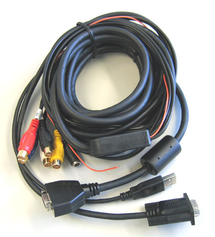 All-In-One Connector cable for CTF-, MM-, MH- TFT Displays <b>- 5m -</b>