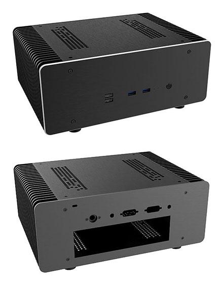 Akasa Maxwell Pro Mini-ITX Gehäuse (A-ITX48-M1B)