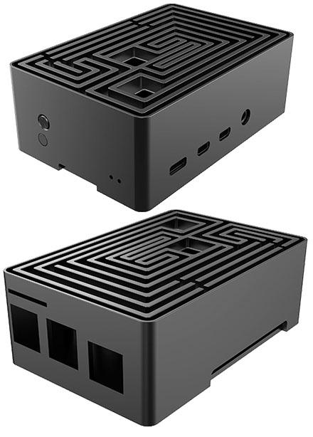 Akasa Maze Raspberry Pi 4 Enclosure (A-RA10-M1B)