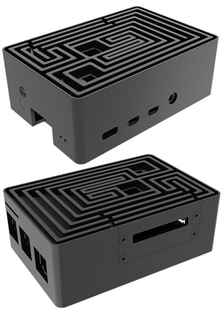 Akasa Maze Pro Raspberry Pi 4 Enclosure (A-RA10-M2B)