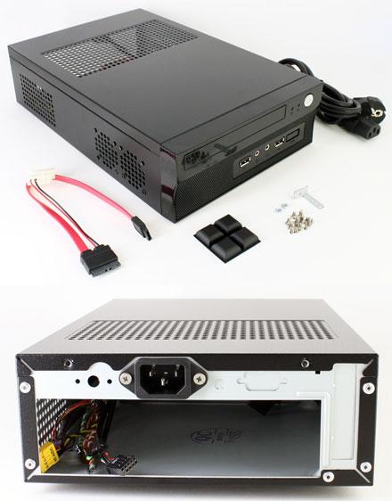 Akasa Crypto X1 200W Mini-ITX enclosure (A-ITX11-A1B)