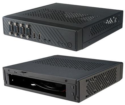 Akasa Cypher SPX Thin-ITX enclosure (A-ITX39-M1B)