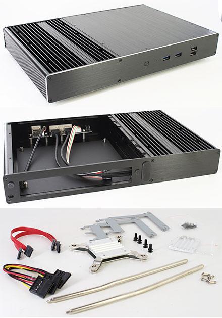 Akasa Galileo T Thin-ITX enclosure (A-ITX23-M1B)
