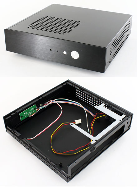 Akasa Cypher Thin-ITX enclosure (AK-ITX04-BK)