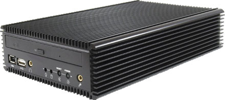 CALU-M - P4-M Car-PC Barebone *FANLESS*
