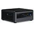 """Intel NUC10i3FNH (Intel Core i3-10110U up to 4,10GHz,  1x HDMI, 5x USB 3.1, Thunderbolt, <b>2,5"""" SATA SSD</b> Support)"""