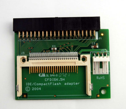 CompactFlash-to-IDE Adapter (IDE Connector Female)