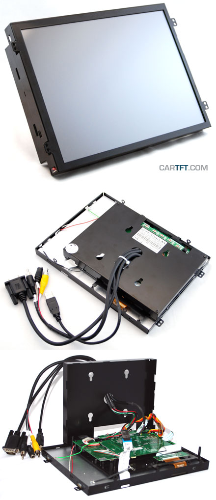 "CTF1040<b>-ML</b> - VGA 10.4"" TFT - Touchscreen USB - Video - <b>OPEN-FRAME (LED Backlight)</b>"