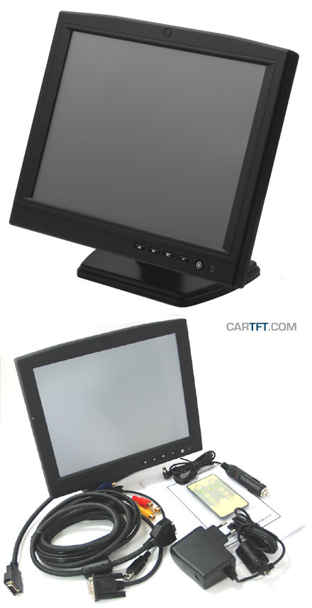 "CTF1040-<b>CL</b> - VGA 10.4"" TFT - Touchscreen USB - Video - Autodimmer - USB-HUB - Audio"