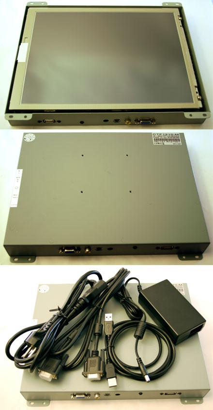 """CTF1210<b>-M</b> - VGA 12.1"""" TFT - Touchscreen USB - Video - <b>OPEN-FRAME</b>"""