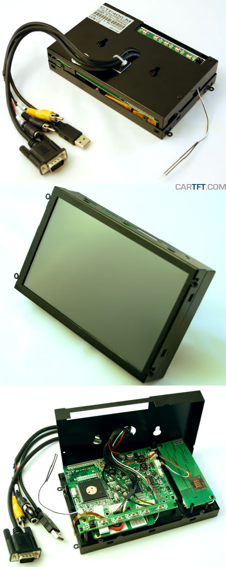 "CTF400<b>-ML</b> - VGA 7"" TFT - Touchscreen USB - Video - <b>OPEN-FRAME (LED Backlight)</b> <b>[SPECIAL]</b>"