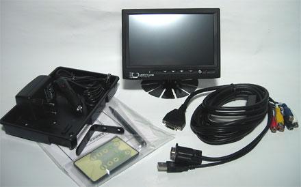 "CTF400-<b>S</b> - VGA 7"" TFT - Touchscreen USB - Video -  Autodimmer - Audio <b>-TRANSFLECTIVE-</b>"