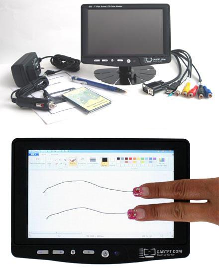 "CTF700-<b>HCT</b> - VGA 7"" TFT - Capacitive Multi-Touchscreen USB - Autodimmer - IR Remote - Audio (<b>800nits , TMR-Technology</b>)"
