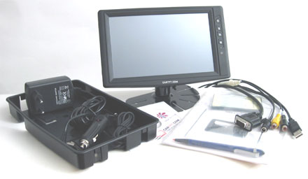 "CTF800 V3 - VGA 8"" TFT - Touchscreen USB - PAL/NTSC - IR Remote - Audio"