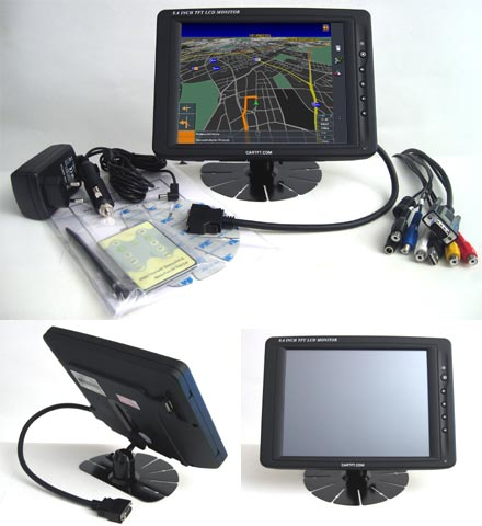 "CTF840-<b>A</b> - VGA 8.4"" TFT - Touchscreen USB - Video -  Audio"