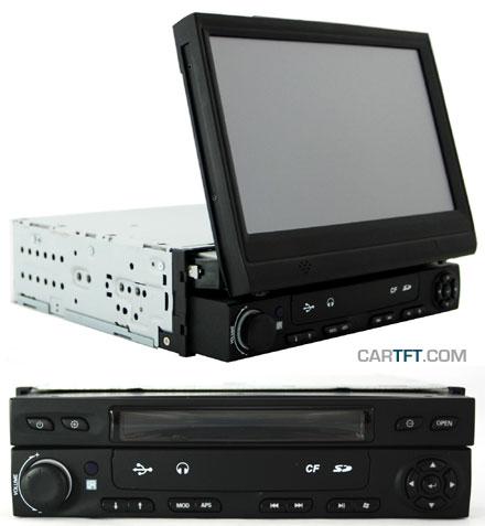 CTFDINPC-1 InDash Car-PC (1.2Ghz, 1GB RAM, 16GB Flash-IDE, AM/FM radio, Amplifier, GPS, WinXP)