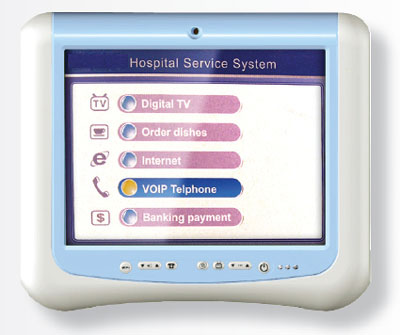 "CTFMEDPC (15"" Medical Touchscreen Tablet PC, 1.86Ghz or 1Ghz Fanless, 1GB RAM, 80GB HDD) [<b>Availability on request</b>]"