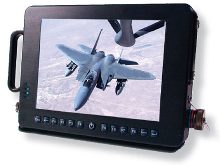 """CTFMILPC (10.4"""" Military Touchscreen TabletPC, 1.1Ghz, 256MB RAM, 4GB Flash HDD) [<b>Availability on request</b>]"""