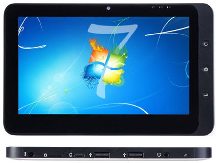 "CTFPAD (10.1"" Multi-Touchscreen, 1.66Ghz, 2GB RAM, 32GB SSD, HSPA/UMTS, WLAN, Bluetooth) [without OS]"