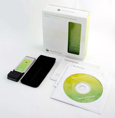 HSPA / UMTS / EDGE Modem (Sony Ericsson EC400 Express Card)