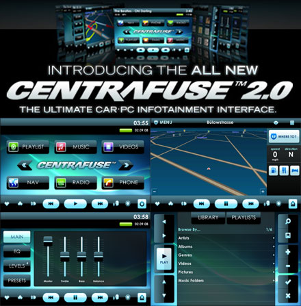 Centrafuse V2 0 3 0 Nav Europe Software