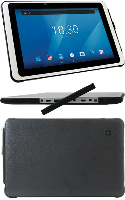 "MOVES101r Classmate PC Tablet (Android 9, 10.1"" Multi-Touch, 32GB eMMC, 2GB RAM, WLAN/BT/GPS)"