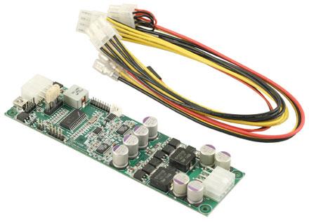 DCDC-USB-200 (Converter from 6-34V to 5-24V, max. 180 watts)