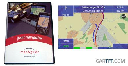 Map&Guide Fleet Navigator 5.2 (Europe incl. East-Europe, Speech, TMC) [PDA/PC] [<b>SPECIAL</b>]