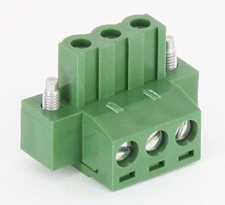 Replacement power connector for FleetPC-4 / FleetPC-5 / FleetPC-7-B / FleetPC-8 (3pol)