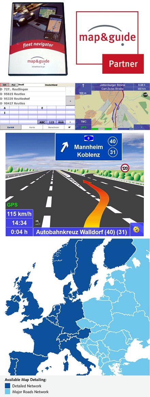 PTV FleetNavigator 10.5 (Europe incl. East-Europe, Speech, TMC) [PDA/PC]