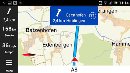 PTV Fleet Navigator (EUROPE) [Android] (Pre-Installed on CarTFT device)