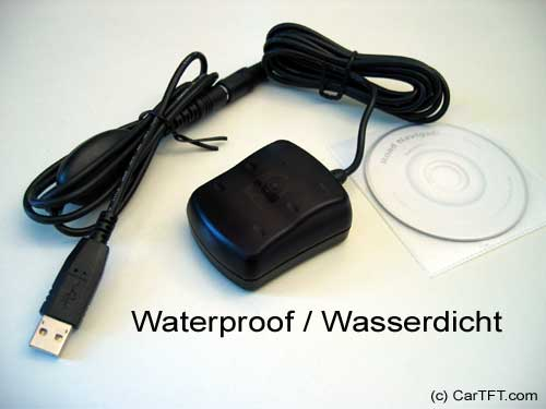 Usb gps mouse sirf 2 chipset waterproof remnant