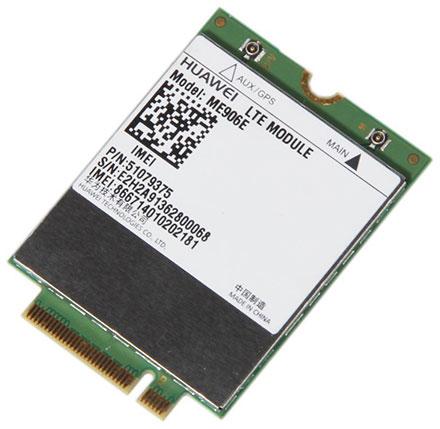 HSPA / UMTS / EDGE / <b>LTE 4G</b> M.2 NGFF Modem (Huawei ME906E) [LTE EUROPE]