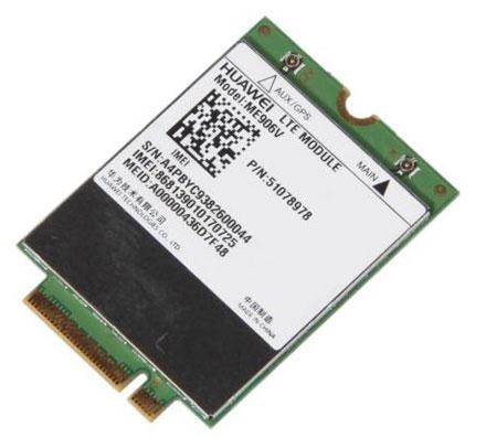 HSPA / UMTS / EDGE / LTE M.2 NGFF Modem (Huawei ME906V) [LTE USA]