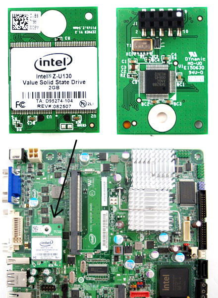 INTEL Z-U130 USB SSD (2,54 mm Pitch, 2GB)