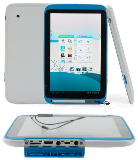 "IneduTab-Z2520 (Intel Education Tablet, 10.1"" Multi-Touchscreen, Intel Atom 2x1.2Ghz, 1GB RAM, 16GB Flash, WLAN/BT, Android 4.2.2)"