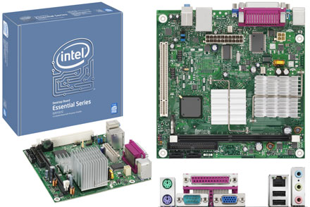 Intel D201GLY2 (with integrated Celeron 1.2Ghz CPU) [<b>FANLESS</b>]