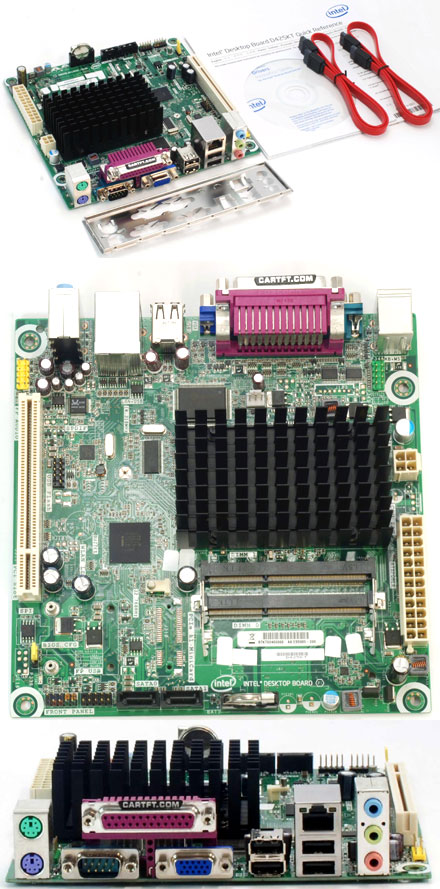 Intel D425KT (with integrated Atom 1x 1.8Ghz CPU) [<b>FANLESS</b>] (Remnant)