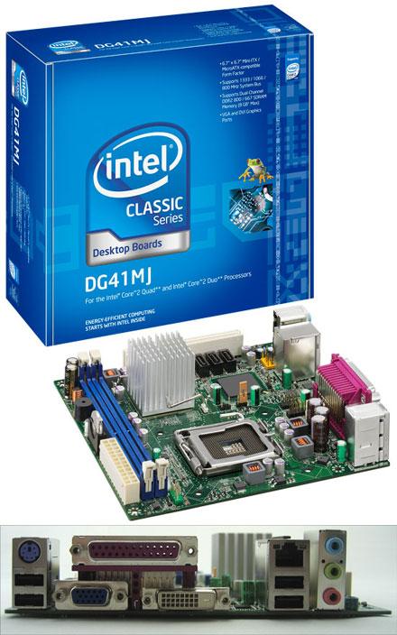 Intel DG41MJ (for Core2Duo FSB1333 [Socket 775], DVI) [Remnant]
