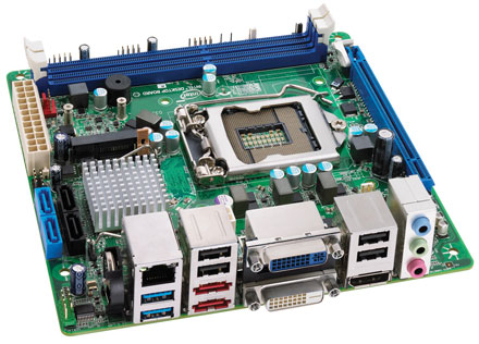 Intel DQ67EP (für i3, i5, i7 vPro [Sockel LGA1155], Sandy Bridge, vPro, AMT 7) [Remnant]
