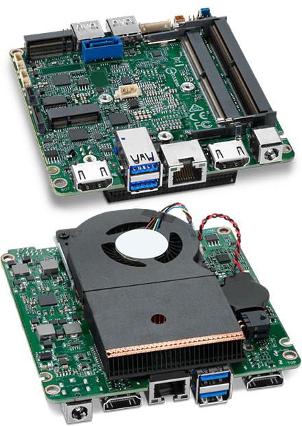 Intel NUC NUC7i5DNBE Mainboard (Intel Core i5-7300U)