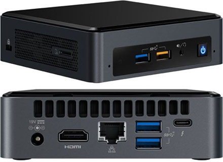 Intel Nuc8i5bek Intel Core I5 8259u 4x 2 30ghz 1x Hdmi 1x M 2 Intel Nuc