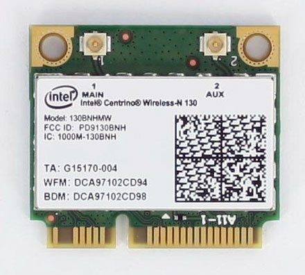 Intel centrino wireless-n 130