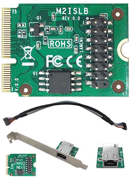 Jetway ADM2ISLB (M.2, 1x Gigabit LAN, <b>Intel i210IT</b>)