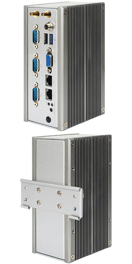 Jetway HBFHP792CW-2807-G (Intel Bay Trail-M, 2GB RAM, DIN-rail, 3x COM, WLAN)