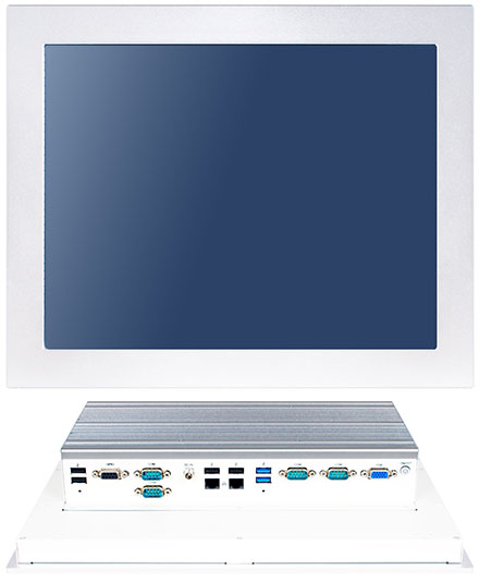 "Jetway HPC150GR-HD1900B Panel-PC (15"" 1024x768 5W Touchscreen, Intel Celeron J1900, 4GB RAM) [IP65/NEMA4 Front]"